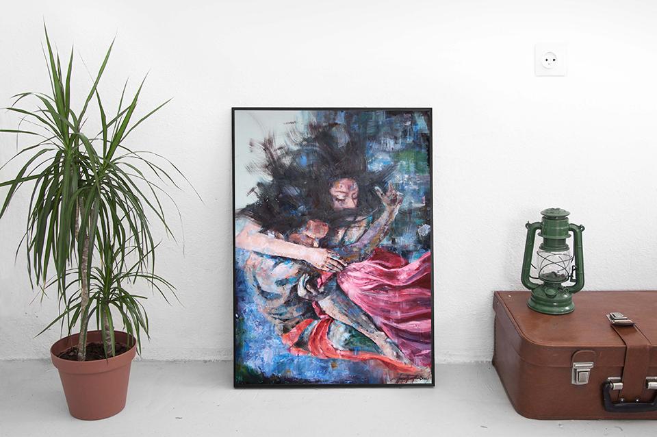 ben-nhau-mai-mai-oil-painting-