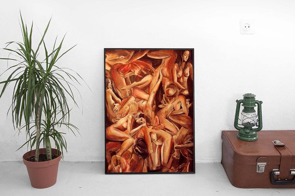 giac-mo-con-nguoi-oil-painting